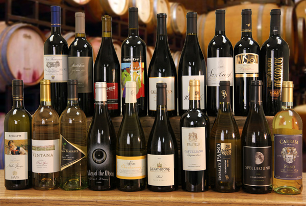 The 19 wines in the December Vintners and Limited Series Sale
