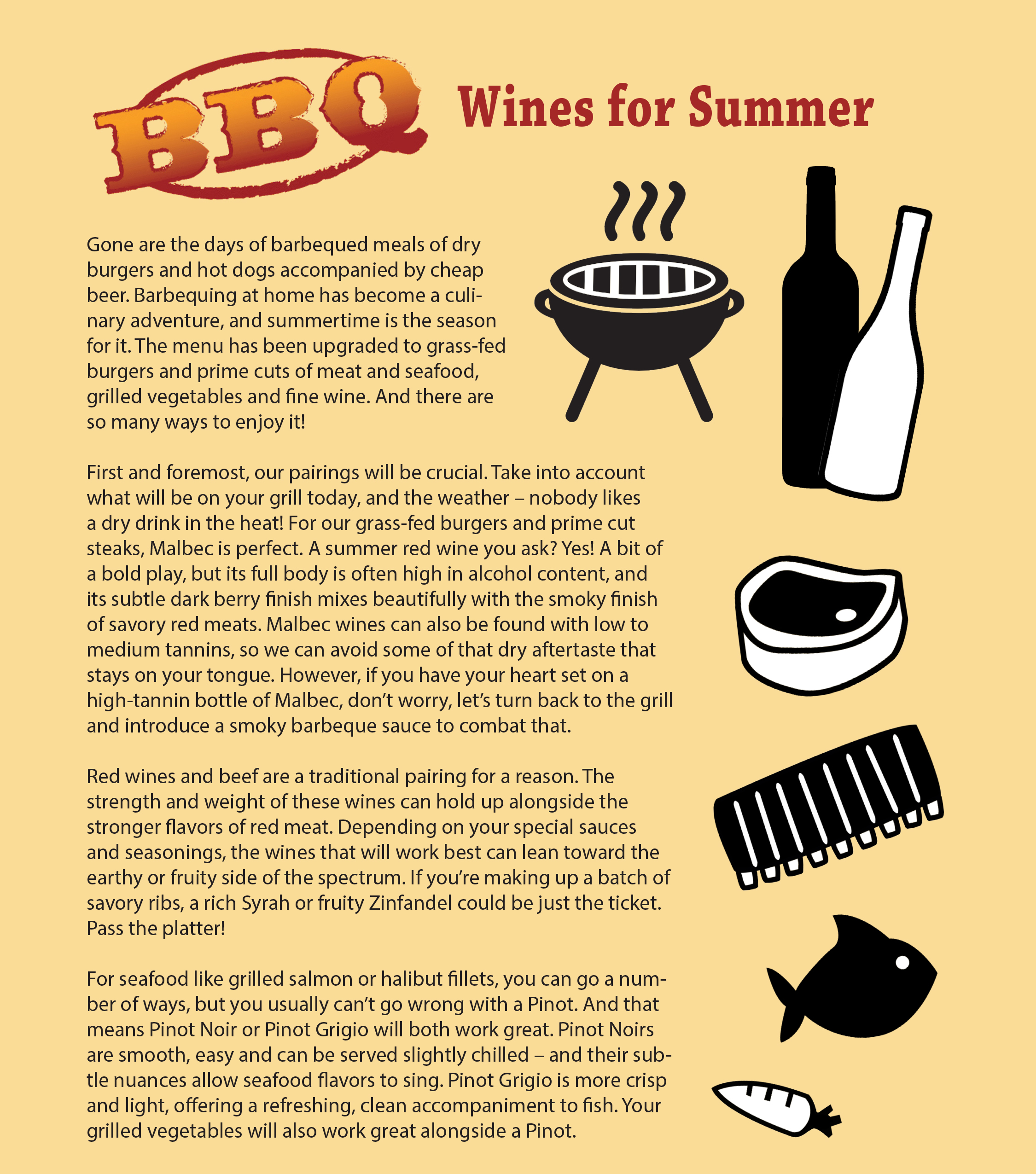 BBQ Wines for Summer