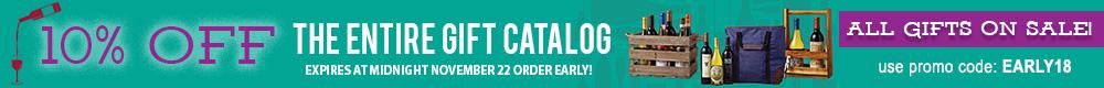 10% OFF Gift Catalog