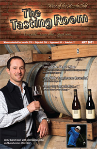 Wine of the Month Club May 2011 Newsletter