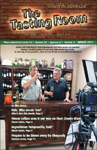 Wine of the Month Club August 2011 Newsletter