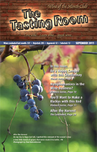 Wine of the Month Club September 2011 Newsletter