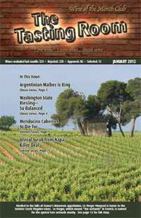 Wine of the Month Club January 2012 Newsletter