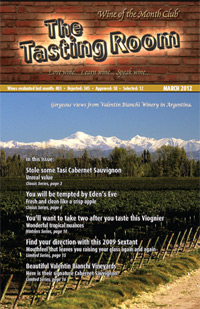 Wine of the Month Club March 2012 Newsletter