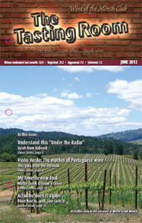 Wine of the Month Club June 2012 Newsletter
