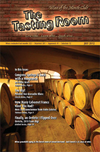 Wine of the Month Club July 2012 Newsletter