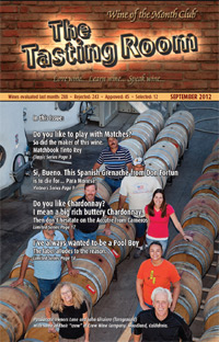 Wine of the Month Club September 2012 Newsletter