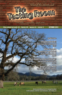 Wine of the Month Club October 2012 Newsletter