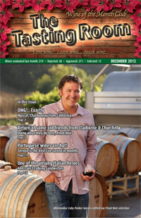 Wine of the Month Club December 2012 Newsletter
