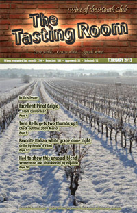 Wine of the Month Club February 2012 Newsletter