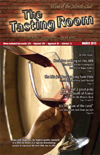 Wine of the Month Club March 2013 Newsletter