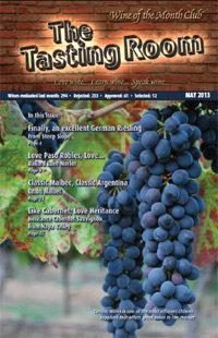Wine of the Month Club May 2013 Newsletter