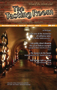 Wine of the Month Club June 2013 Newsletter
