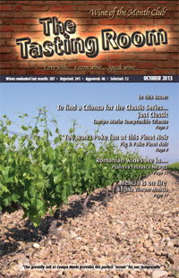 Wine of the Month Club October 2013 Newsletter