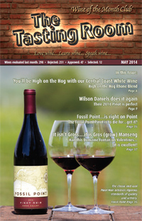 Wine of the Month Club May 2014 Newsletter