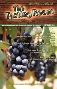 Wine of the Month Club September 2014 Newsletter