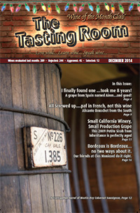 Wine of the Month Club December 2014 Newsletter
