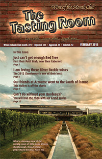 Wine of the Month Club February 2015 Newsletter