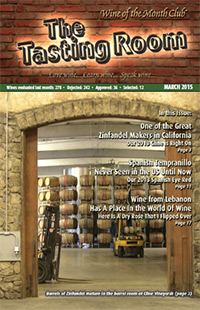 Wine of the Month Club March 2015 Newsletter