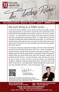 Wine of the Month Club February 2016 Newsletter