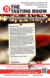Wine of the Month Club December 2017 Newsletter