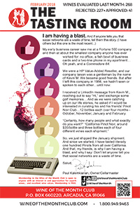 Wine of the Month Club February 2018 Newsletter