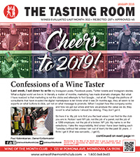 Wine of the Month Club January 2019 Newsletter
