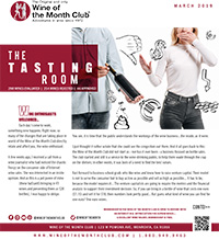Wine of the Month Club March 2019 Newsletter