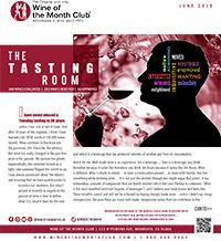 Wine of the Month Club June 2019 Newsletter