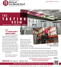 Wine of the Month Club October 2019 Newsletter