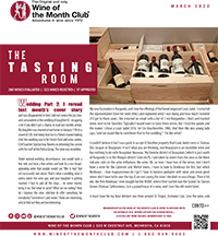 Wine of the Month Club March 2020 Newsletter