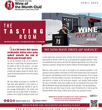 Wine of the Month Club May 2020 Newsletter
