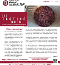 Wine of the Month Club September 2020 Newsletter