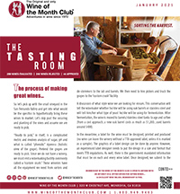 Wine of the Month Club January 2021 Newsletter