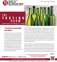 Wine of the Month Club February 2021 Newsletter