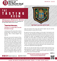 Wine of the Month Club March 2021 Newsletter