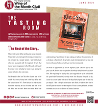Wine of the Month Club June 2021 Newsletter