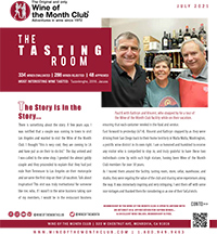 Wine of the Month Club July 2021 Newsletter