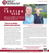 Wine of the Month Club August 2021 Newsletter