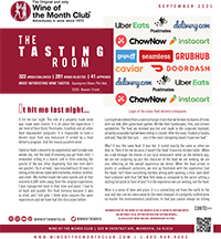 Wine of the Month Club September 2021 Newsletter