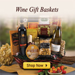 15% Off All Wine Gift Baskets