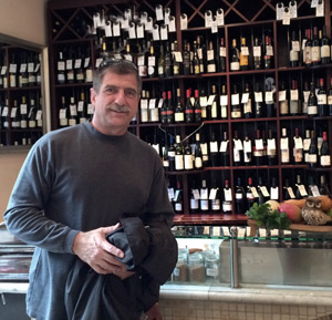 Paul in Budapest seeking great wines.