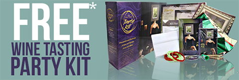 Join the Party with a FREE Wine Tasting Kit