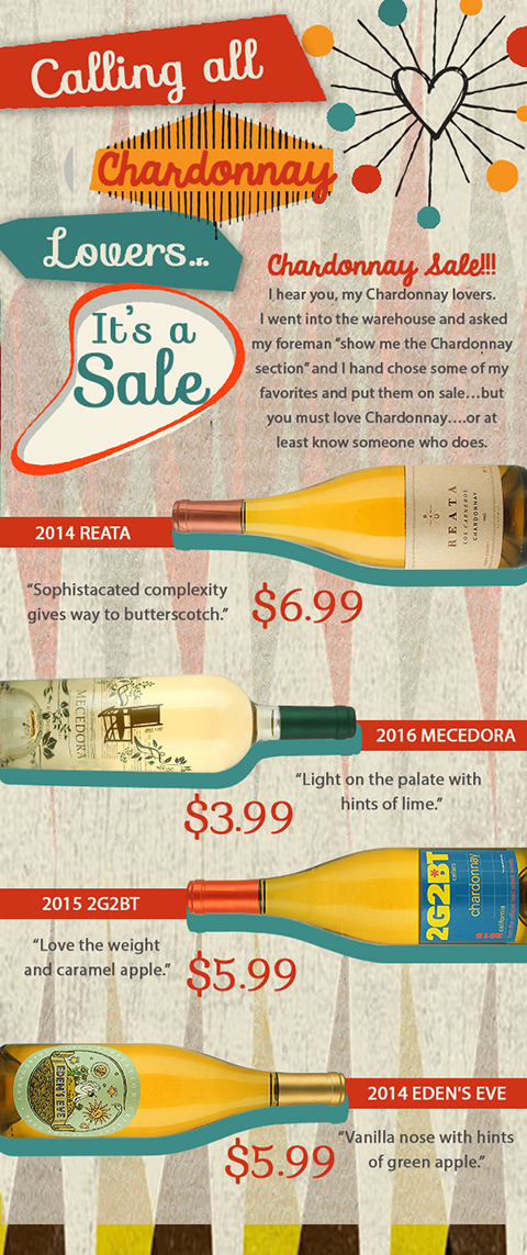 Chardonnay Lovers Sale