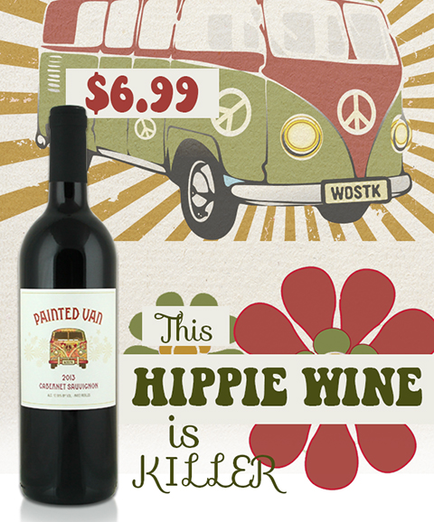 This Hippe Wine is Killer