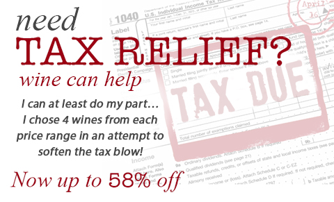 Tax Relief Sale Now On