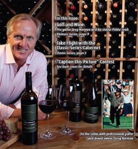 Greg Norman...Winemaker or Golfer