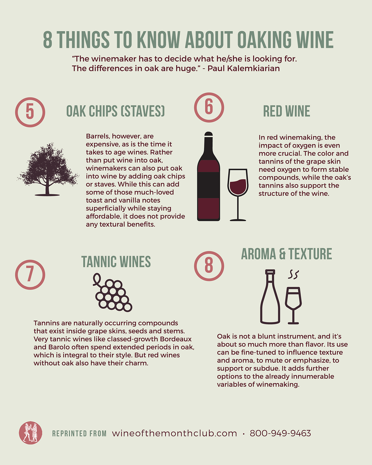 How Wine is Oaked