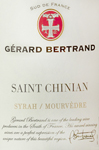 Saint Chinian, 2009. Gerard Bertrand
