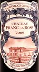 St Emilion Grand Cru, 2009. Chateau Franc La Rose